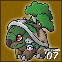Pokemon- Torterra Stuffie by cartoonist