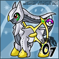 Pokemon- Arceus Stuffie by cartoonist