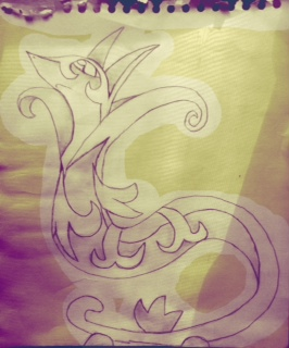 Serperior (this is a sketch) by Garchomped
