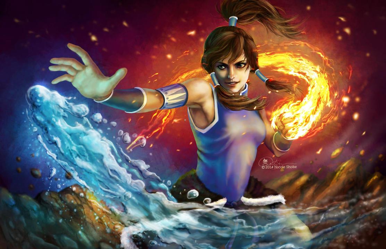 Avatar Korra by shobey1kanoby
