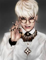 SHINee Jonghyun by Nikittysan