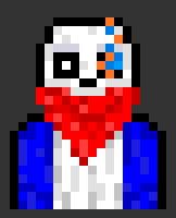 Genocide Sans Pixel Art by p3rp3tu41n1ght