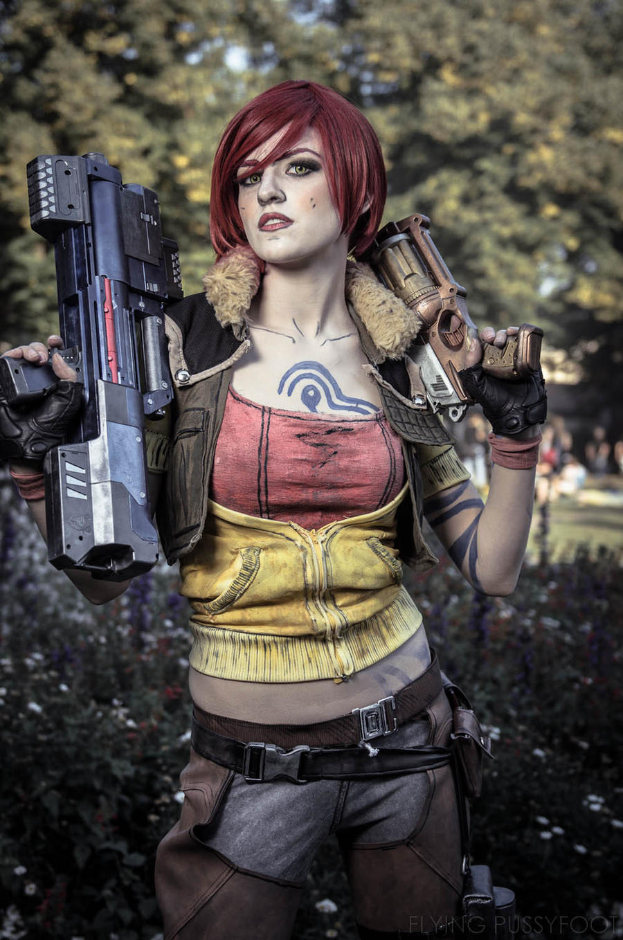 Ever seen a siren in action? Here's your chance. by ... Lilith Borderlands 2 Cosplay