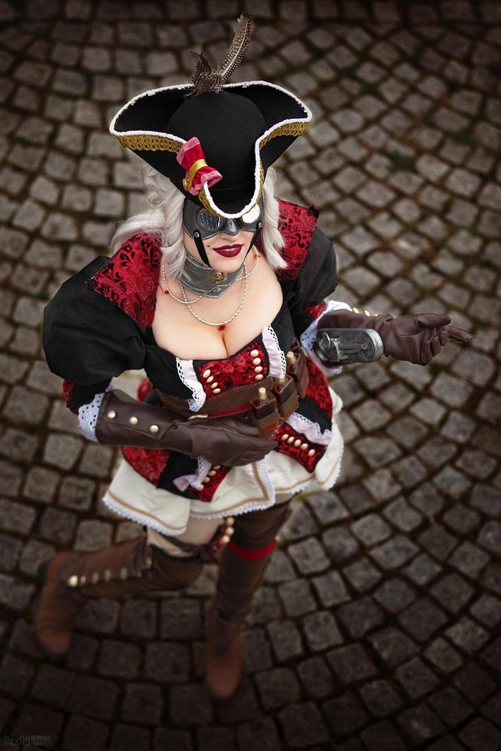 Death behind a mask! by MadameSkunk