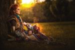 Resting- Aloy from Horizon Zero Dawn