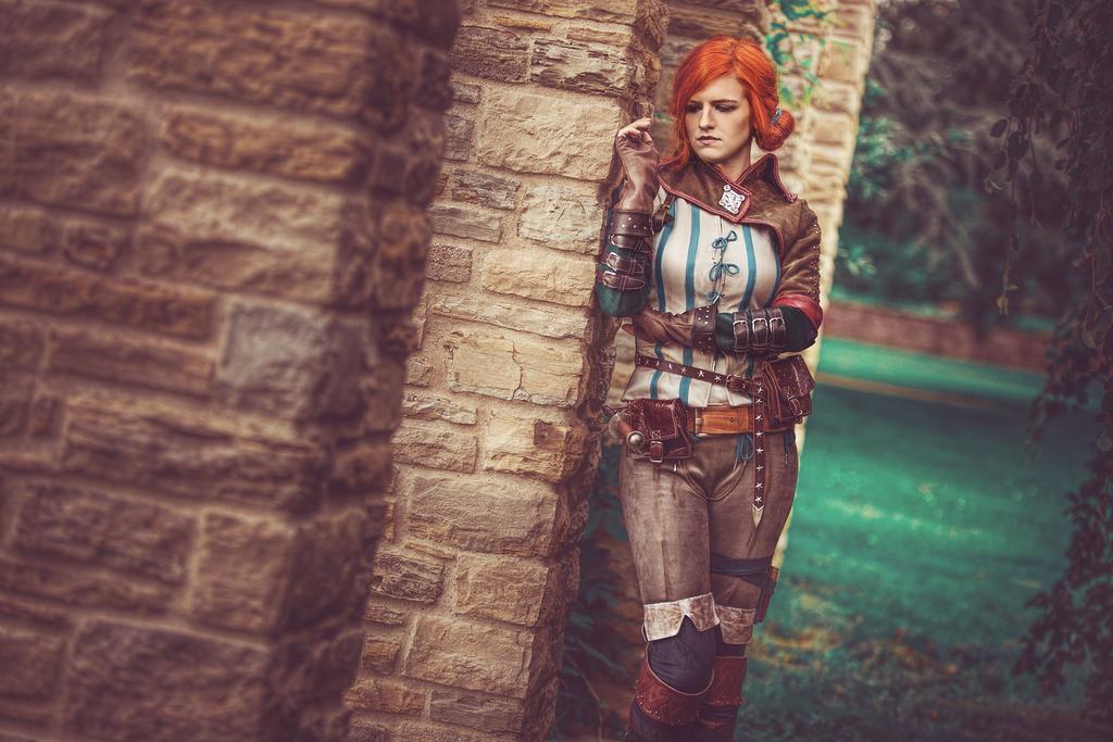 Triss Merigold from Witcher 2 by MadameSkunk