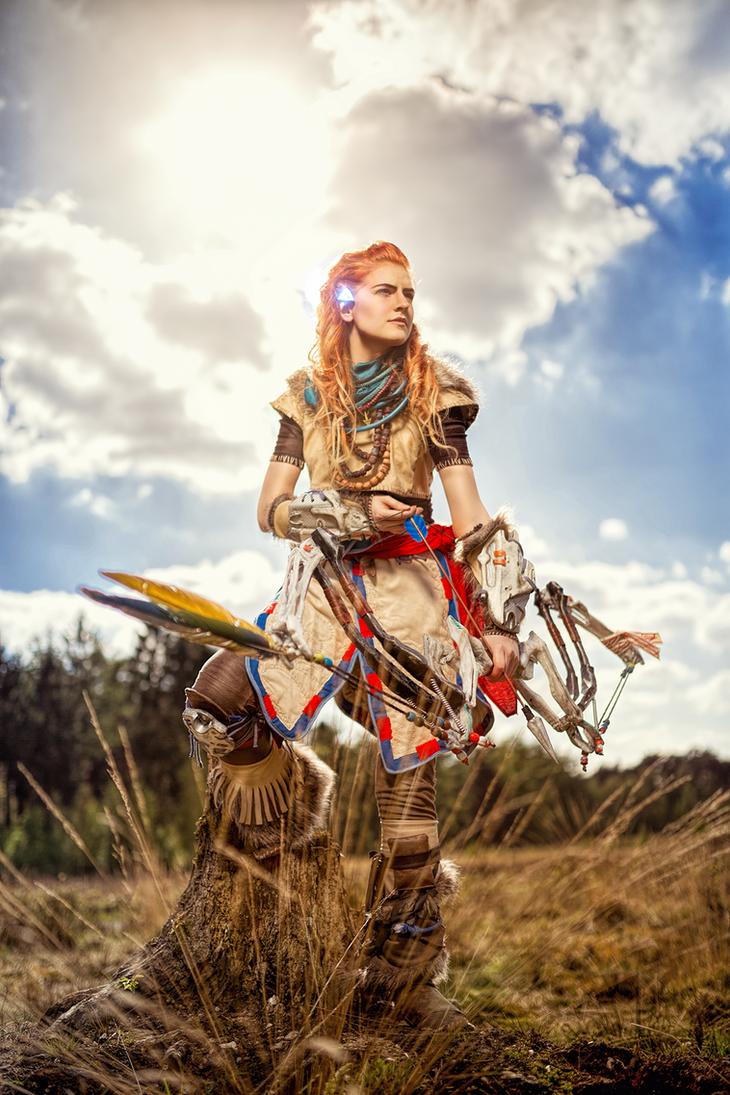 The Huntress by MadameSkunk