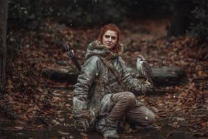 the redheaded Wildling by MsSkunk