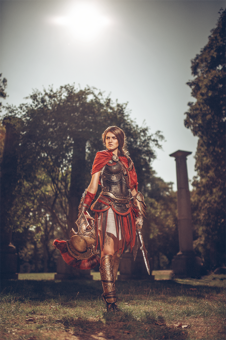 Kassandra of Sparta by MsSkunk