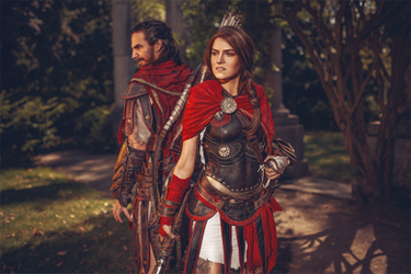 You have the choice: Alexios or Kassandra