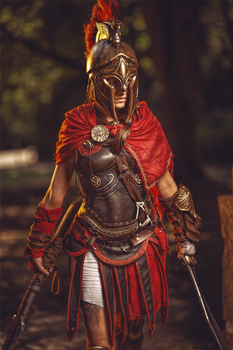 Kassandra the misthios. by MsSkunk
