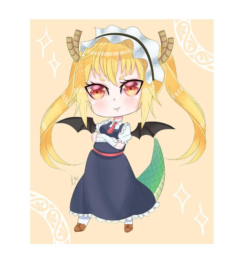 Miss kobayashi dragon maid- Tooru  by ILuv2BSilly