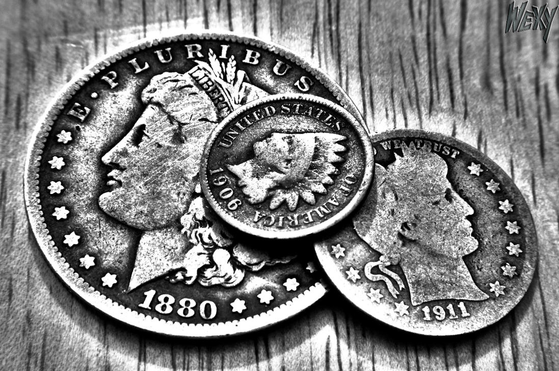 old coins in black n white by wexy21 on DeviantArt