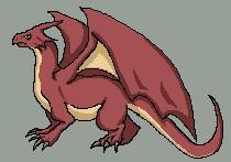 Pixeling a dragon by lur