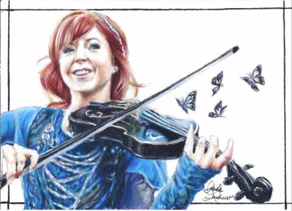 Lindsey Stirling by IzzieCat