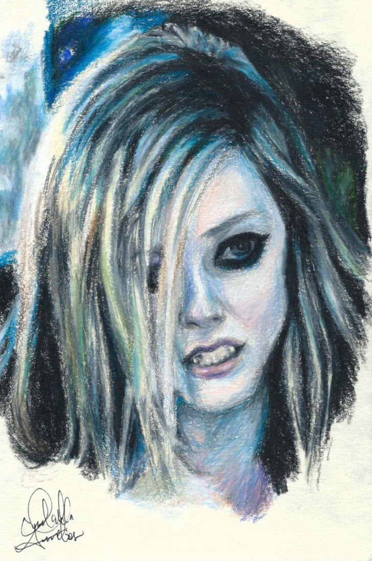 Avril Lavigne by IzzieCat