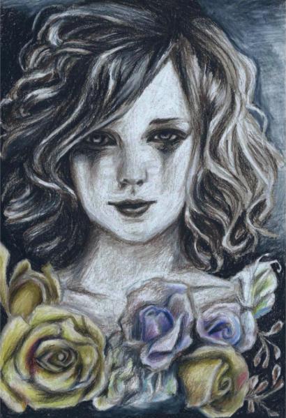 Muted Bloom by IzzieCat