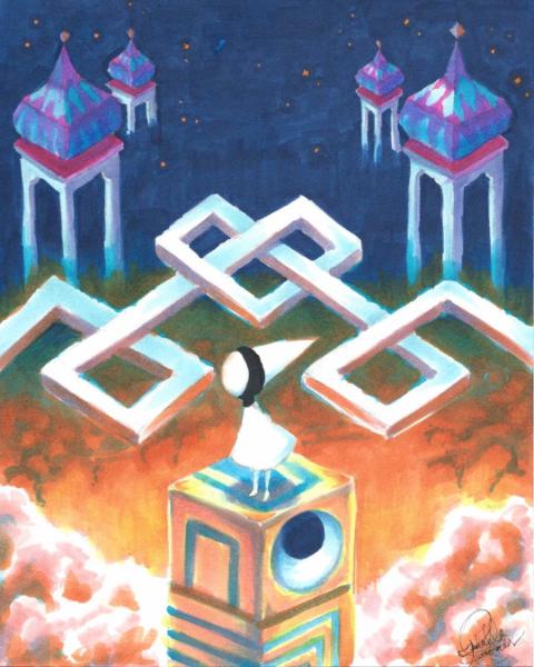 Monument Valley: Ida's World by IzzieCat