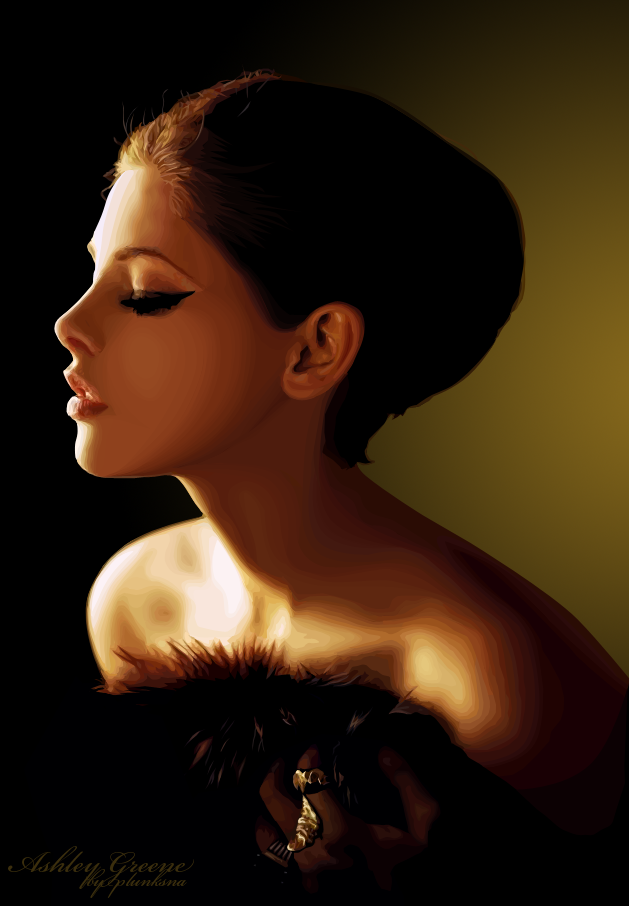 Ashley Greene Vexel by Lintu79
