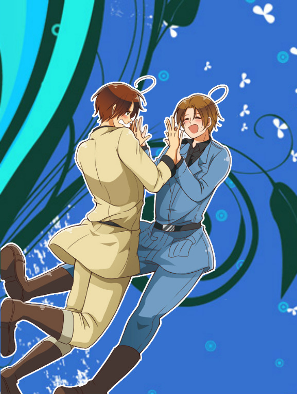 Hetalia The Italian Brothers  by Ninjagirl16100