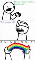 TomSka Rainbows by linkinpunk123