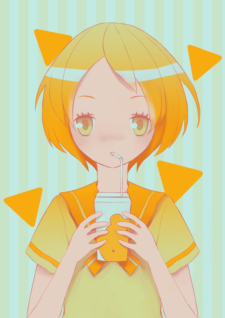 I like milk by SemiMegami