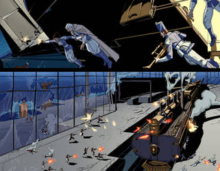 Steamwars issue 2 pages 06 and 07
