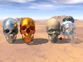 skulls by d-z-l-r