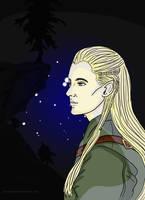 LOTR Legolas by AstralGuardian