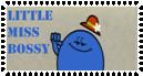 Little Miss Bossy Stamp by Percyfan94