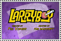 Larry-Boy Cartoon Series Stamp