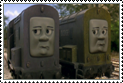 Splatter and Dodge Stamp by Percyfan94