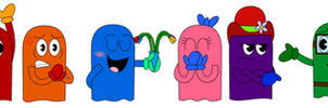 The Pac-Man Ghosts
