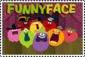Funny Face Stamp by Percyfan94