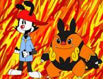 Pokemon Trainer - Wakko Warner