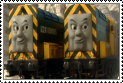 Arry and Bert Stamp by Percyfan94