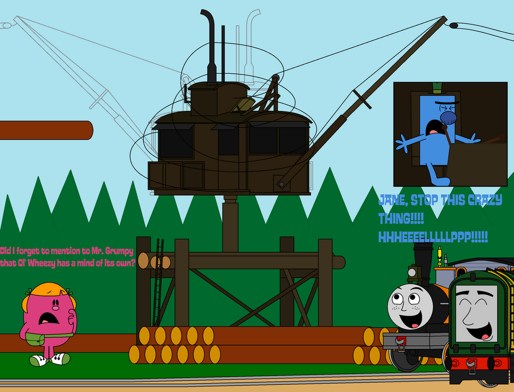 Image boco in trainz thomas and friends png scratchpad fandom - Ttte Can T Maintain A Wild Crane By Percyfan94
