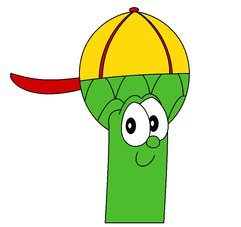 Junior Asparagus Coloring Page Junior Asparagus Coloring