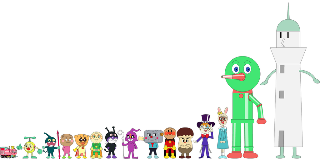 Anpanman Character List By Percyfan94 On Deviantart
