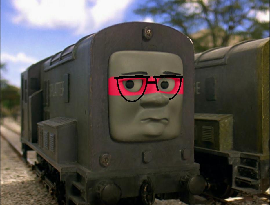 Trainjimutt (First Time Using Photoshop) By Percyfan94 On