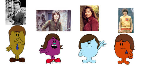 Doctor Who characters in Mr. Men form by Percyfan94