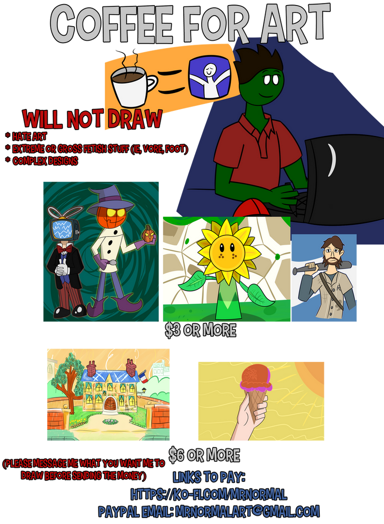 Cheap Art Commision Prices (Read below)