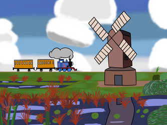 TTTE - The Iconic Windmill by Percyfan94