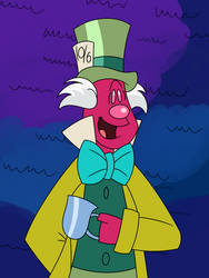 Mr. Scatterbrain as Mad Hatter (remake) by Percyfan94