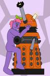 A Naughty Dalek (redraw) by Percyfan94