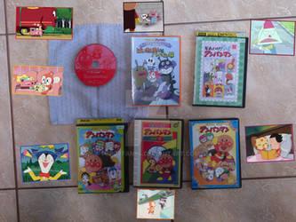 My Anpanman DVD Collection