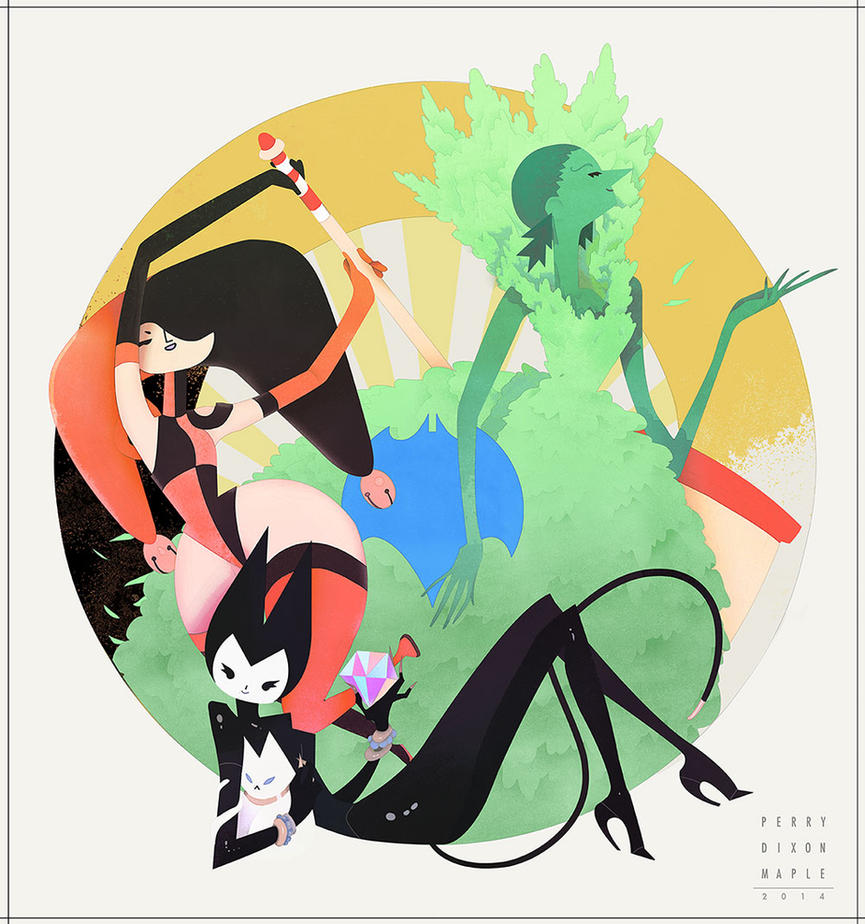 Ladies of Gotham by PerryMaple