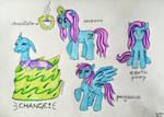 Bright Changeling transformations by ChrisLang89