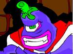 Evil is purple