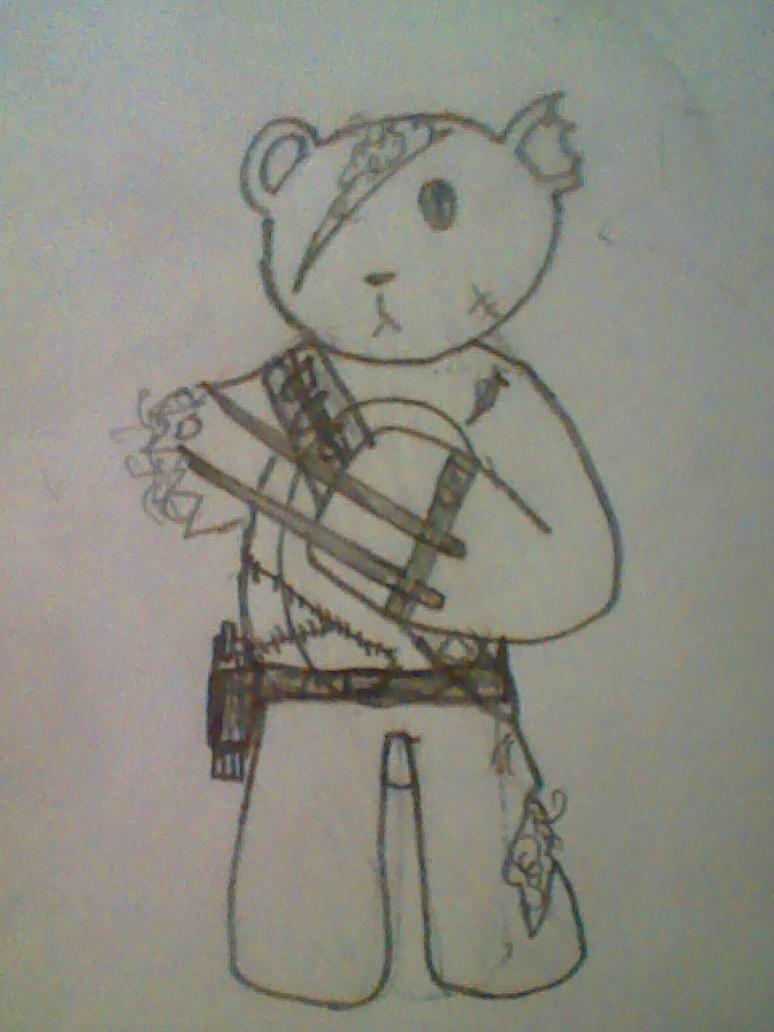 Killer Teddy Bear by DJGam3 on deviantART